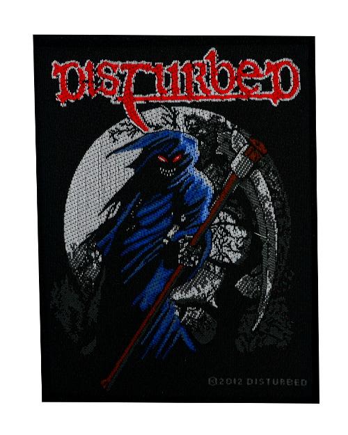 98fbb1a2208 Disturbed Reaper Patch  Disturbed Fist Patch  - £3.00   Punktrash ...
