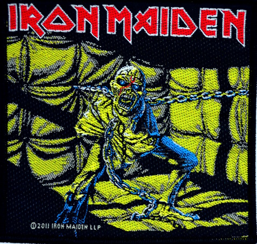 Iron Maiden - Piece Of Mind Patch