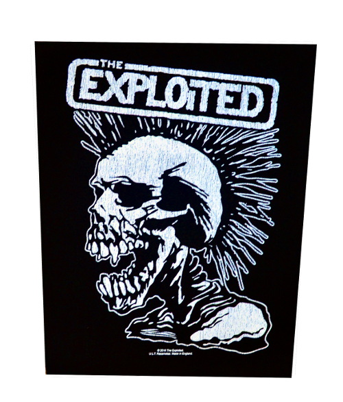 The Exploited Lets Start A War Back Patch