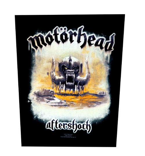 Motorhead After Shock Back Patch