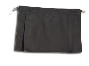 Small Black Cotton Bumflap