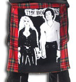 Tartan Bumflap with Sid n Nancy Print