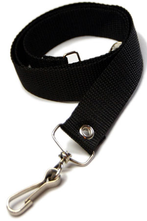 Pair of Black Webbing Bondage Straps