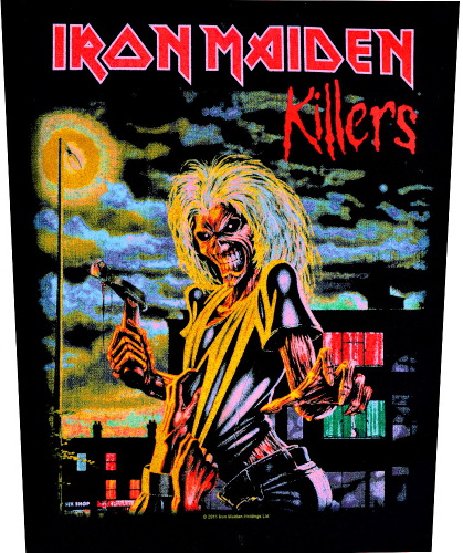 Iron Maiden Killers Back Patch