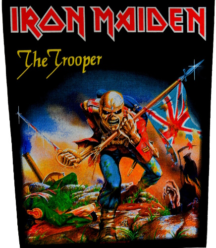 Iron Maiden - The Trooper Back Patch