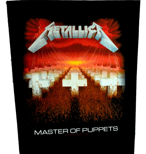 Metallica Master Of The Puppets Back Patch
