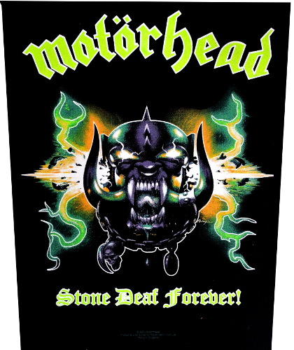 Motorhead - Stone Deaf Forever Back Patch