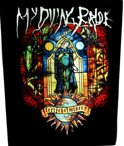 My Dying Bride Back Patch