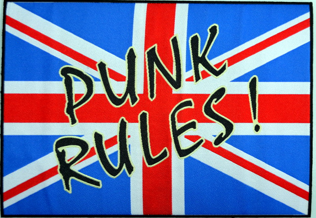 Punk Rules Large Patch