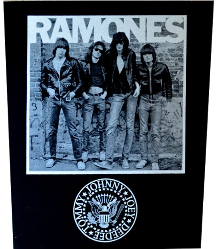 Ramones Band Back Patch