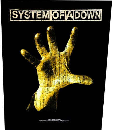 System Of A Down Back Patch