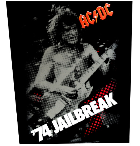 AC/DC JailBreak Back Patch