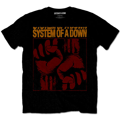 System Of A Down Fisticuffs T-shirt