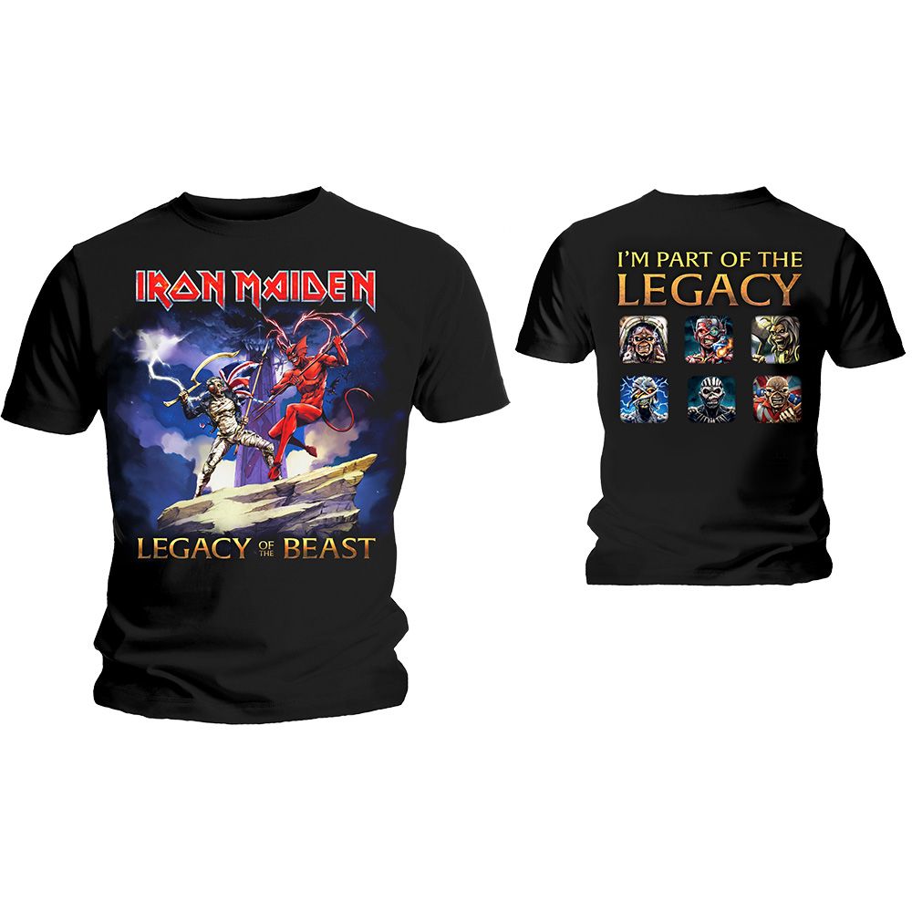 Iron Maiden Legacy Of The Beast Fight