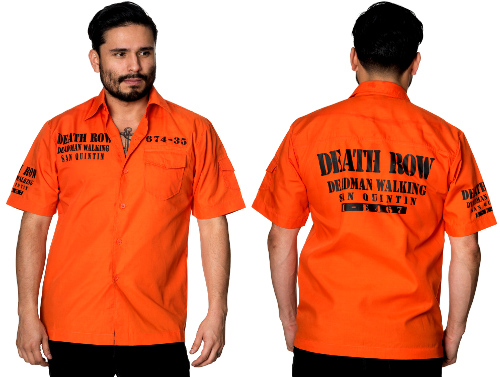 Deathrow Deadman Walking S/S Shirt