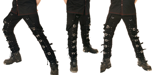Dead Threads Laced & Buckled Trousers