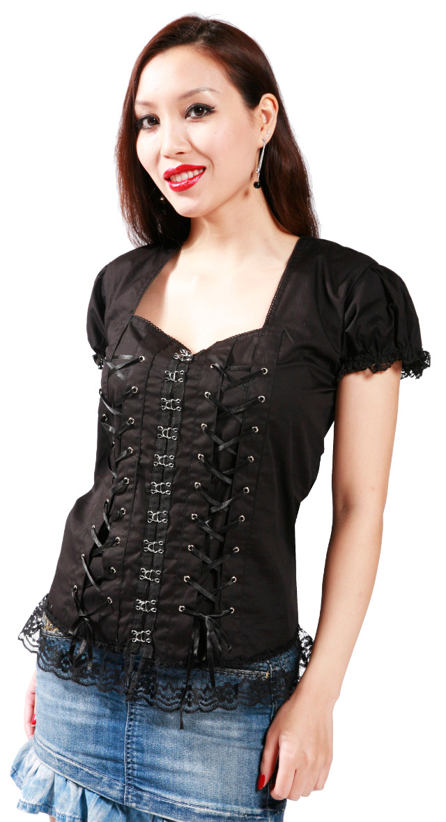 Dead Threads Corset Top