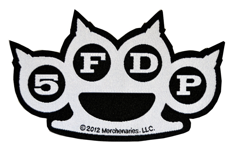 Five Finger Death Punch Knuckles Patch