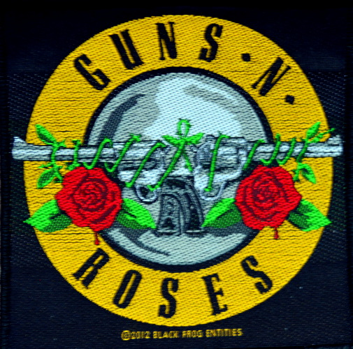 Guns N Roses Pistols Patch