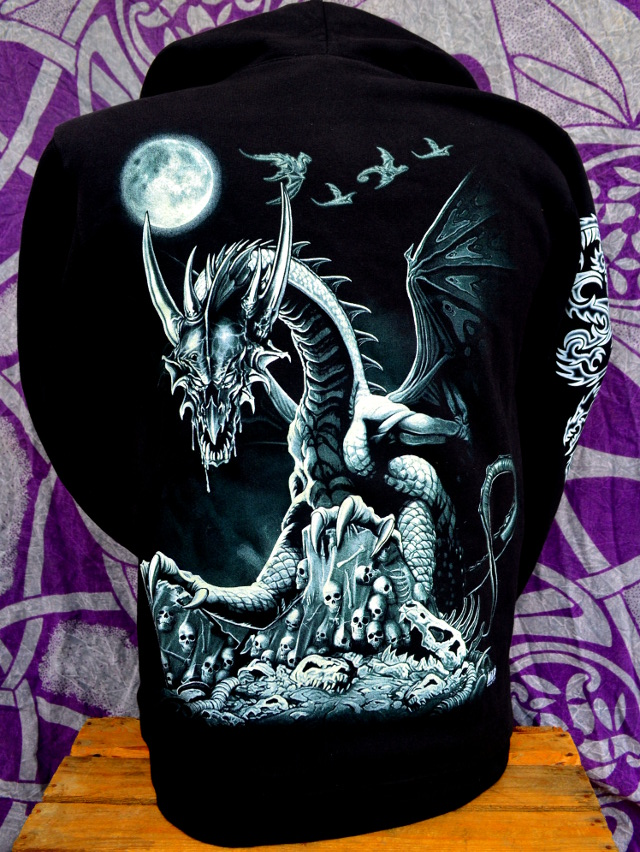 Glow In The Dark Dragon Hoodie