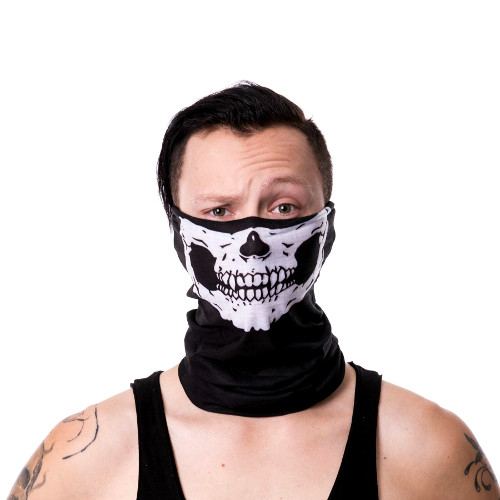 Poizen Industries Snood Skull Bandana