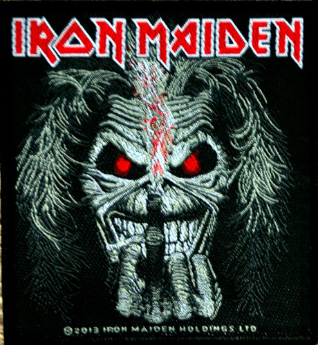 Iron Maiden - Eddie Finger Patch