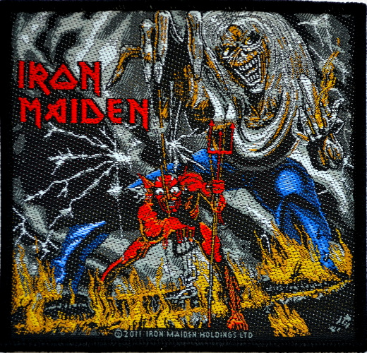 Iron Maiden - The Number Of The Beast Patch - Click Image to Close