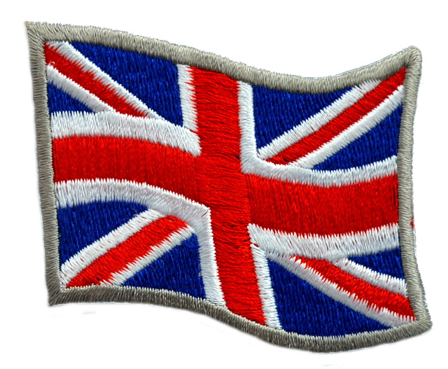 Union Jack Iron On Patch