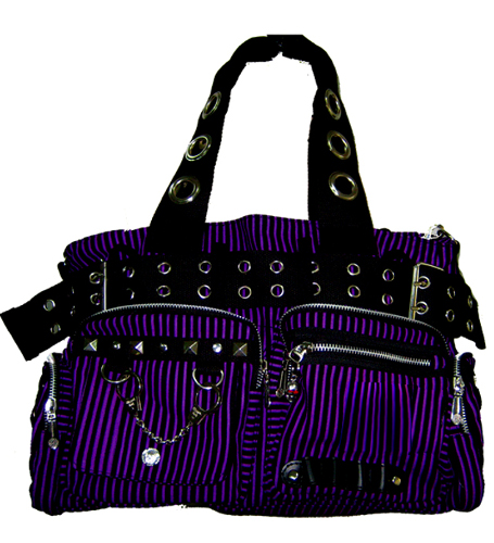 Jawbreaker Purple Messenger Bag