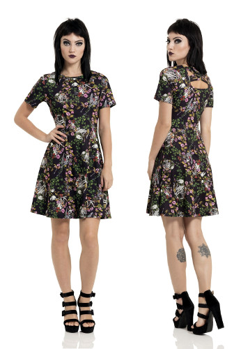 I Don't Want No Shrub Skater Dress