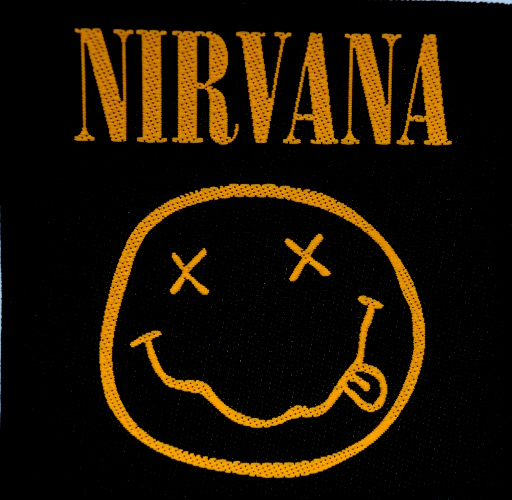Nirvana - Smiley Woven Patch