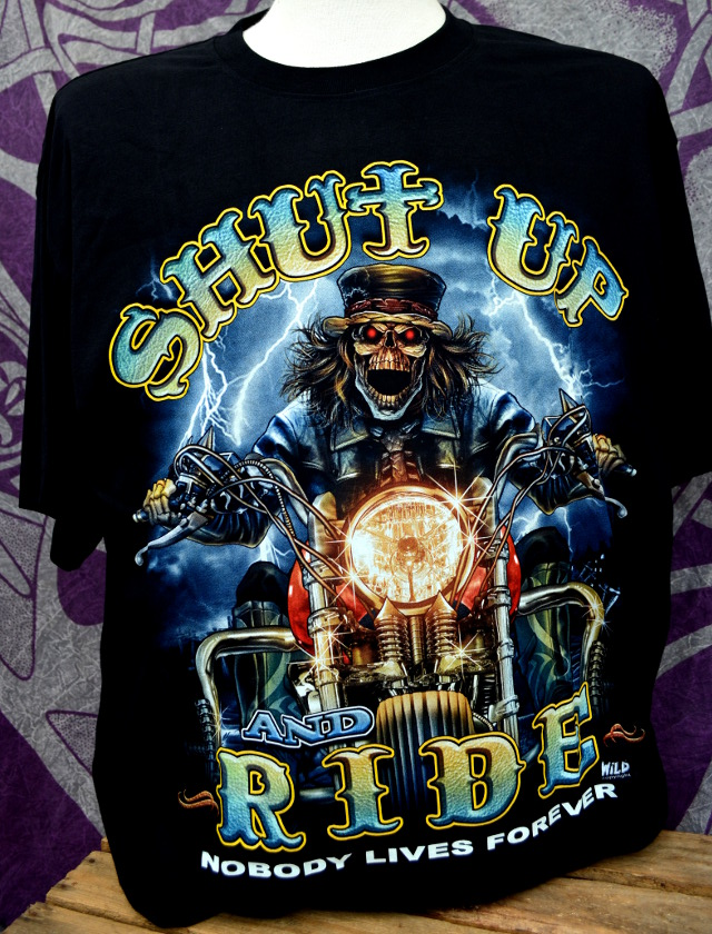 Shut Up And Ride T-Shirt