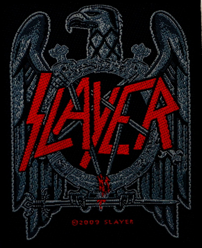 Slayer - Eagle Woven Patch