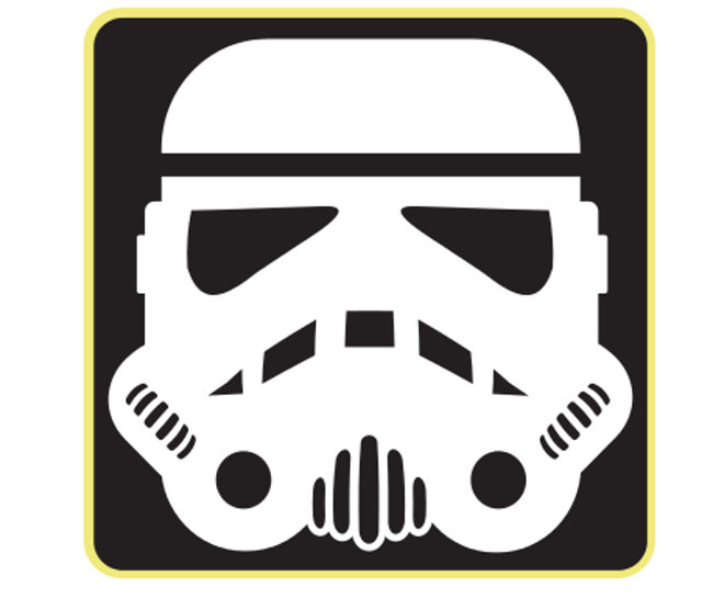 Window Sticker/Decals - StormTrooper