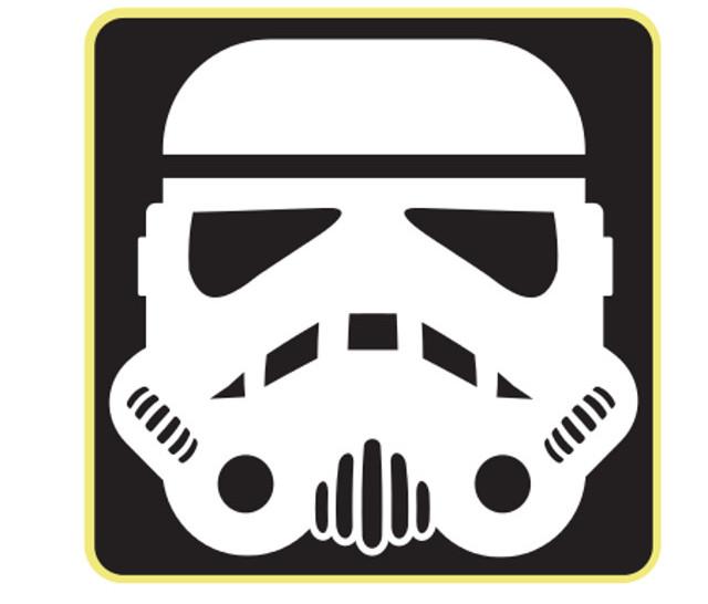Window sticker decals stormtrooper
