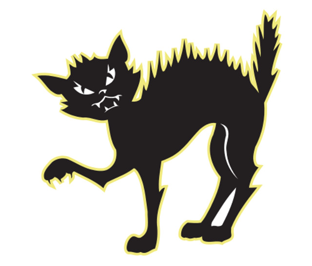 Window Sticker/Decals - Black Cat