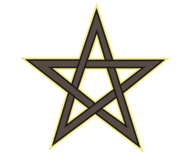 Window Sticker/Decals - Pentagram