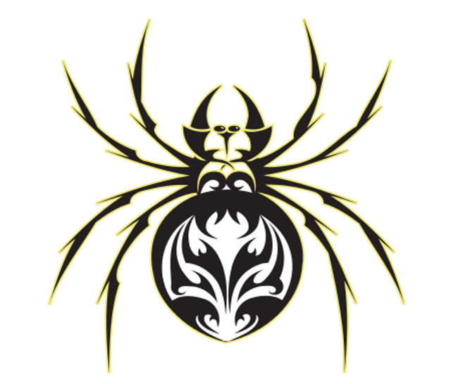 Window Sticker/Decals - Spider