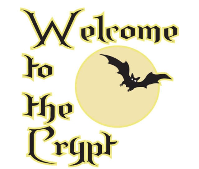 Window Sticker/Decals - Welcome to the crypt